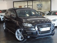 USED 2011 11 AUDI Q7 3.0 TDI QUATTRO S LINE 5d AUTO 240 BHP PAN ROOF+BOSE+NAV+LTHR+FSH