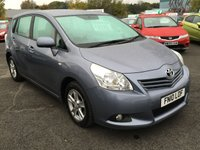 USED 2010 10 TOYOTA VERSO 1.6 TR VALVEMATIC 5d 130 BHP