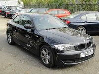 2010 BMW 1 SERIES 2.0 120I ES AUTOMATIC COUPE , LOW MILES , 1 owner £8499.00