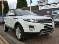 2012 LAND ROVER RANGE ROVER EVOQUE 2.2 ED4 PURE 5d  £SOLD