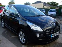 2013 PEUGEOT 3008 1.6 E-HDI ACTIVE DIESEL AUTOMATIC  £8999.00