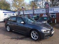 2014 BMW 3 SERIES 3.0 330D M SPORT TOURING 5d AUTO 255 BHP £20995.00
