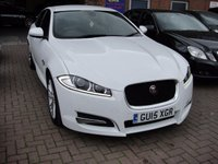 USED 2015 15 JAGUAR XF 2.2 D R-SPORT 4d AUTO 200 BHP COUNTRY WIDE DELIVERY ARRANGED