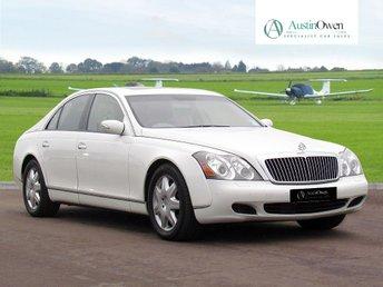 2004 MAYBACH 57 5.5 V12 4d AUTO 550 BHP £57990.00