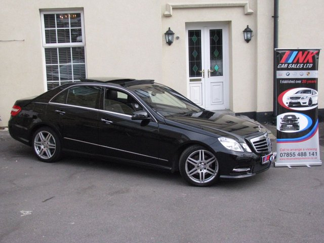 2013 62 MERCEDES-BENZ E CLASS 2.1 E250 CDI BLUEEFFICIENCY SPORT 4d AUTO 204 BHP PAN ROOF DESIGNO LEATHER TRIM SAT NAV TV REAR ENTERTAINMENTS HEATED SEATS WITH MEMORY PACK  MASSAGING SEATS NIGHT VISION
