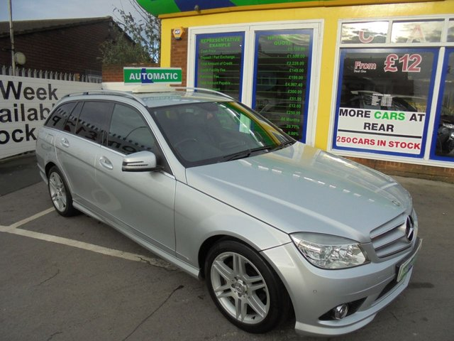 USED 2010 10 MERCEDES-BENZ C-CLASS 2.1 C220 CDI BLUEEFFICIENCY SPORT 5d AUTO 170 BHP ** 01922 494874 ** JUST ARRIVED ** **DIESEL AUTOMATIC**
