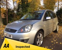 USED 2007 57 FORD FIESTA 1.4 ZETEC CLIMATE 16V 3d 80 BHP