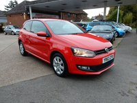 2013 VOLKSWAGEN POLO 1.2 MATCH EDITION 3d 59 BHP £6990.00