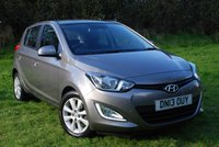 USED 2013 13 HYUNDAI I20 1.2 STYLE [84 Bhp] 5 Door Hatchback * VERY LOW MILEAGE * SUPER ECO