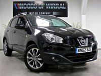 2012 NISSAN QASHQAI 1.6 TEKNA FULL LEATHER SEATS IS DCIS/S 5d 130 BHP £10380.00