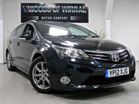 2012 TOYOTA AVENSIS 2.0 T4 D-4D EDITION LEATHER & TECH PACK 5d 124 BHP £9680.00