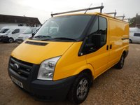 2007 FORD TRANSIT  T300 SWB LOW ROOF 2.2 TDCI 110 BHP WITH TAILGATE £1995.00