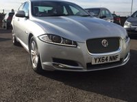 2014 JAGUAR XF 2.2 D LUXURY 4d AUTO 163 BHP £23995.00