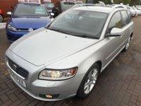 2010 VOLVO V50 1.6 D DRIVE SE LUX 5d 109 BHP £4990.00