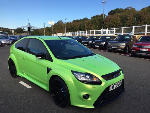 2009 09 FORD FOCUS 2.5 RS LUX PACK 1+2 300 BHP