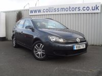 2010 VOLKSWAGEN GOLF 1.6 SE TDI BLUEMOTION 5d 103 BHP £7999.00