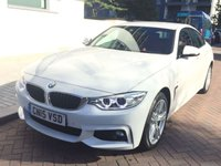 USED 2015 15 BMW 4 SERIES 3.0 435D XDRIVE M SPORT GRAN COUPE 4d AUTO 309 BHP