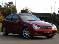 USED 2002 52 MERCEDES-BENZ C 220 Mercedes-Benz C Class C220 143 CDI COUPE EVOLUTION PANORAMA PAN GLASS ROOF + HEATED SEATS -  VGC