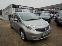 USED 2014 14 NISSAN NOTE 1.2 ACENTA 5d 80 BHP