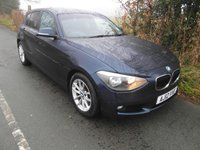 2012 BMW 1 SERIES 1.6 116D EFFICIENTDYNAMICS 5d 114 BHP £8595.00
