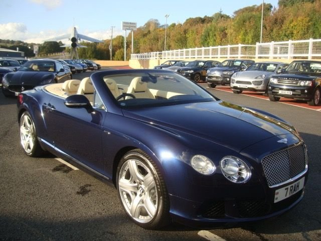 2012 12 BENTLEY CONTINENTAL 6.0 GTC MULLINER PACK AUTO 567 BHP