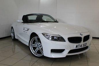 2014 BMW Z4 2.0 Z4 SDRIVE20I M SPORT ROADSTER 2DR 181 BHP £17966.00