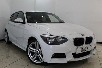 2014 BMW 1 SERIES 2.0 116D M SPORT 5DR 114 BHP £15470.00