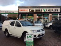 USED 2012 62 MITSUBISHI L200 2.5 DI-D 4X4 4LIFE LB DCB  134 BHP LOW MILES  OPEN 7 DAYS 200 VANS IN STOCK PX WELCOME