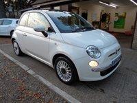 2012 FIAT 500 1.2 LOUNGE 3d 69 BHP £5995.00