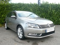 2012 VOLKSWAGEN PASSAT 1.6 HIGHLINE TDI BLUEMOTION TECHNOLOGY ESTATE START/STOP 5d 105 BHP £9450.00