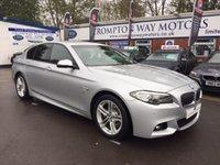 2014 BMW 5 SERIES 2.0 520D M SPORT 4d AUTO 181 BHP £20995.00