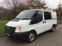 2013 FORD TRANSIT 2.2 280 LR 100 BHP 6 SEAT CREW VAN 6 SPEED ELECTRIC PACK £6250.00