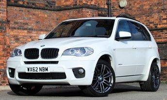 2012 BMW X5 3.0 XDRIVE30D M SPORT 5d AUTO 241 BHP £26475.00
