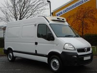 2006 VAUXHALL MOVANO 2.5Cdti Mwb High Roof [ Freezer / Chiller+ Standby ] van Ex Co-op Free UK Delivery £5950.00
