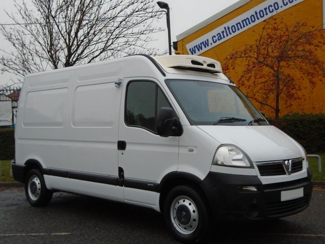 2006 06 VAUXHALL MOVANO 2.5Cdti Mwb High Roof [ Freezer / Chiller+ Standby ] van Ex Co-op Free UK Delivery
