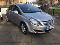 USED 2007 57 VAUXHALL CORSA 1.2 SXI 16V 3d 80 BHP CRUISE CONTROL, ELECTRIC WINDOWS AND ELECTRIC DOOR MIRRORS, NEW 12 MONTH MOT