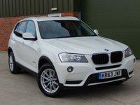 2013 BMW X3 2.0 SDRIVE18D SE 5d 141 BHP £11750.00