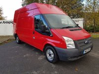 USED 2012 12 FORD TRANSIT 300 2.2 125 BHP LWB H/R FWD - CHOICE OF 70 VANS