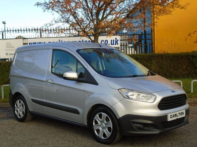 2014 64 FORD TRANSIT COURIER 1.6TDCi Trend L1 H1 Ex Lease Fsh Free UK Delivery