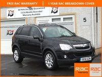 USED 2011 61 VAUXHALL ANTARA 2.2 EXCLUSIV CDTI 5d 161 BHP Parking Sensors ,Heated Seats ,Cruise Control