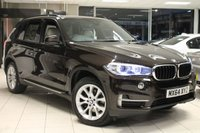 USED 2014 64 BMW X5 3.0 XDRIVE30D SE 5d AUTO 255 BHP FSH+PRO NAV+HEATED LEATHER+REVERSE CAMERA WITH SURROUND VIEW+19 INCH ALLOYS