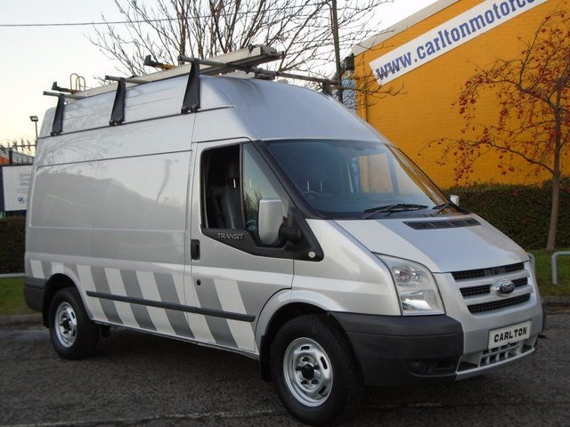 2009 59 FORD TRANSIT 145 T350m High Roof [ LPG / Duel Fuel ] panel van A/Con Rwd Free UK Delivery LOW COST DRIVING