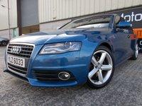 2010 AUDI A4 2.0 TDI S LINE 4d 141 BHP £10500.00