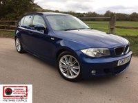 USED 2007 07 BMW 1 SERIES 2.0 120I M SPORT 5d 168 BHP *Black leather interior, Sports Seats, Rear Parking Sensors*