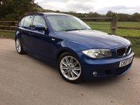 2007 BMW 1 SERIES 2.0 120I M SPORT 5d 168 BHP £SOLD