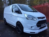 2013 FORD TRANSIT CUSTOM 2.2 270 TREND LR 100 BHP MV SPORT AIR CON CRUISE ONE OWNER TOP SPEC £13495.00