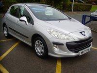 2008 PEUGEOT 308 1.4 S 5d 94 BHP £2795.00