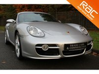 USED 2007 57 PORSCHE CAYMAN 3.4 24V S 2d 295 BHP FULL HISTORY / BLACK LEATHER