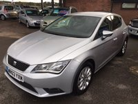 USED 2013 63 SEAT LEON 1.6 TDI SE 5d 105 BHP £0 ROAD TAX, ONE OWNER, FULL SEAT HISTORY