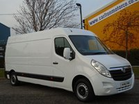 2011 VAUXHALL MOVANO F3500 L3-H2 Cdti 125 [ Mobile Jetting Unit ] van Fwd Ex Lease  £12950.00